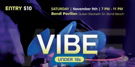VIBE Under 18's Dance Party tickets