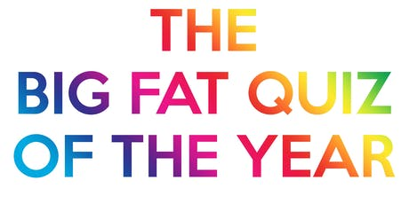 The Big Fat Quiz Of The Year tickets
