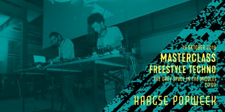Masterclass: freestyle techno | 25 JAAR RADIO TONKA | Haagse Popweek tickets