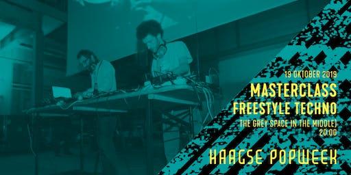 Masterclass: freestyle techno | 25 JAAR RADIO TONKA | Haagse Popweek