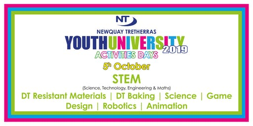 Newquay Tretherras Youth University - STEM - 5th Oct