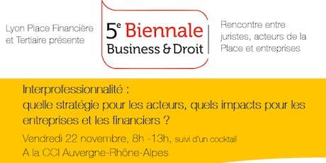 5e Biennale Business & Droit billets