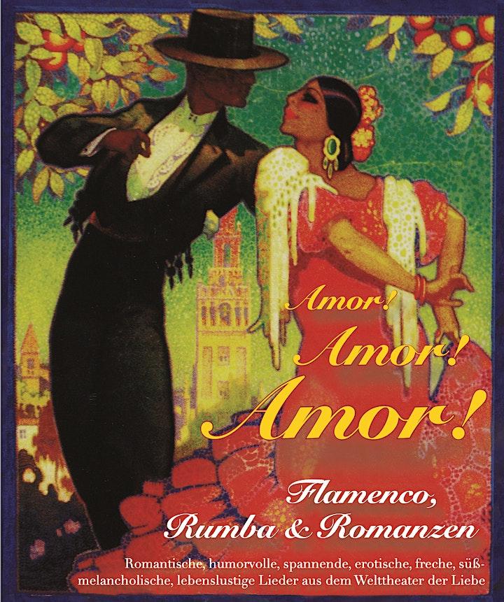 Amor! Amor! Amor! - Ein Abend der Liebe gewidmet - Flamenco Dinner: Bild