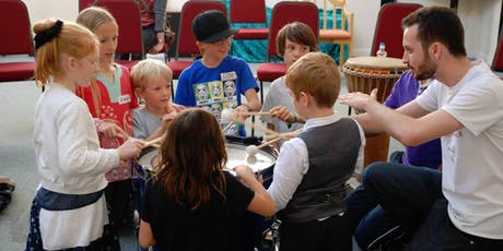 Fun Drumming Session - Inclusive Autism Family Social tickets