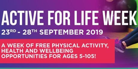 Active for Life - Tennis tickets