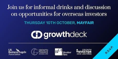 Professionals Assisting Overseas Investors – Informal Networking & Drinks tickets