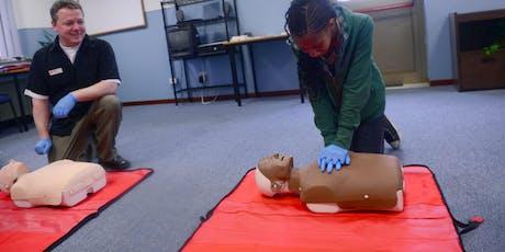 Emergency First Aid at Work (EFAW) tickets