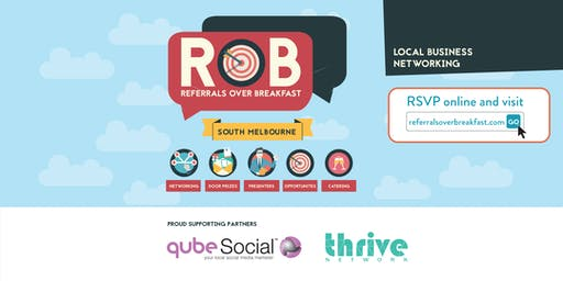 South Melbourne - Referrals over Breakfast (RoB)