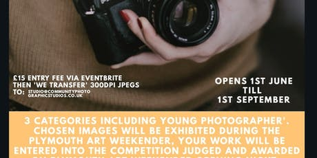Plymouth Art Weekender Photography Competition Entry  tickets