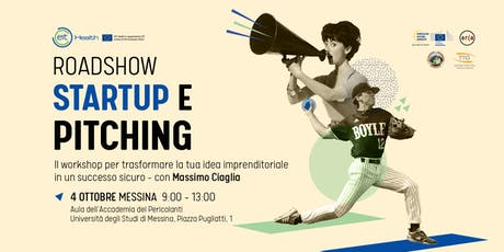 Startup e Pitching all'Università di Messina tickets