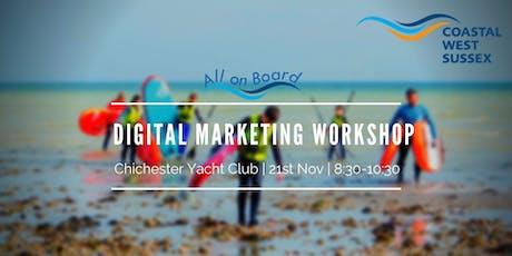 All on Board Digital Marketing Workshop - Chichester tickets
