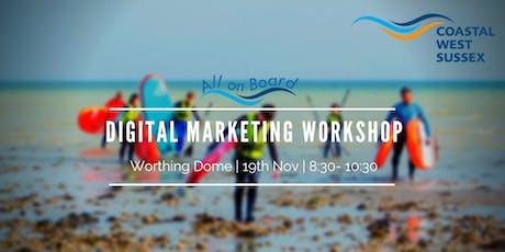 All on Board Digital Marketing Workshop - Worthing tickets