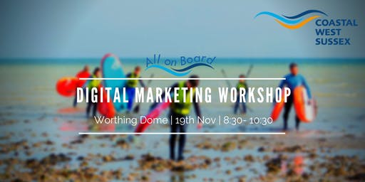 All on Board Digital Marketing Workshop - Worthing