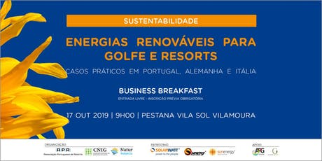 Energias Renováveis para Golfe e Resorts tickets
