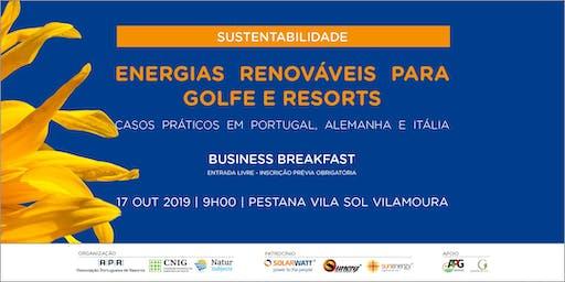 Energias Renováveis para Golfe e Resorts