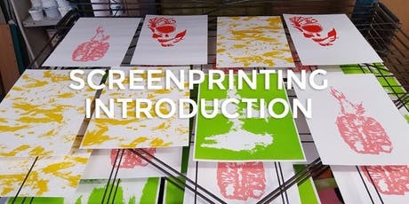 Screen Printing Introduction tickets