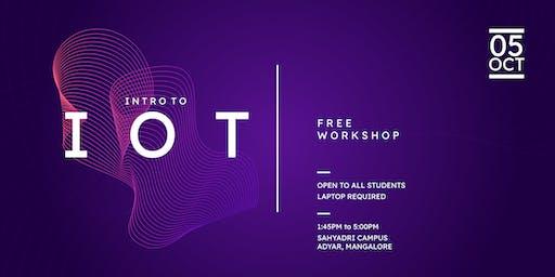 Intro to IOT  workshop