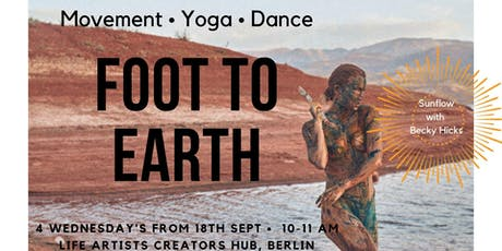Foot to Earth - Movement meditation and yoga tickets