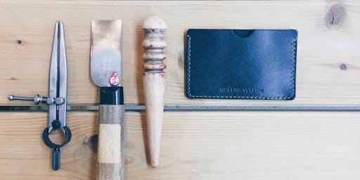 Leathercraft Workshop : Make Leather Card Holder (Taster's Class)