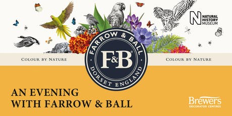 An Evening with Farrow & Ball tickets