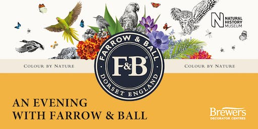 An Evening with Farrow & Ball