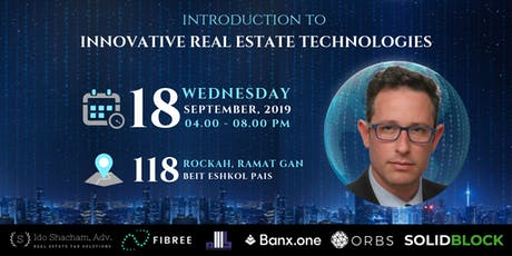 Introduction to innovative real estate technologies tickets