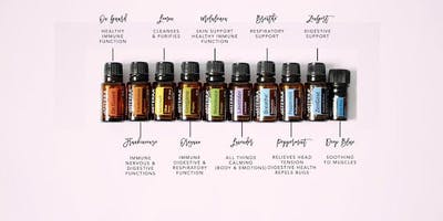 Introduction to Essential oils to support you though winter and beyond.