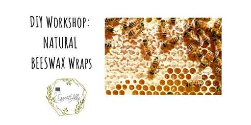 DIY School Holiday Workshop: Parent & Me Making Natural Beeswax Wraps