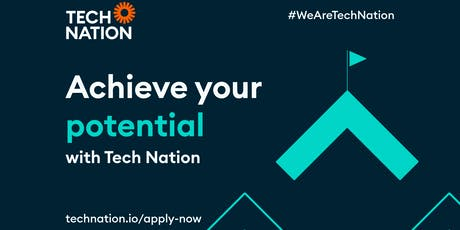 Achieve your Potential with Tech Nation tickets