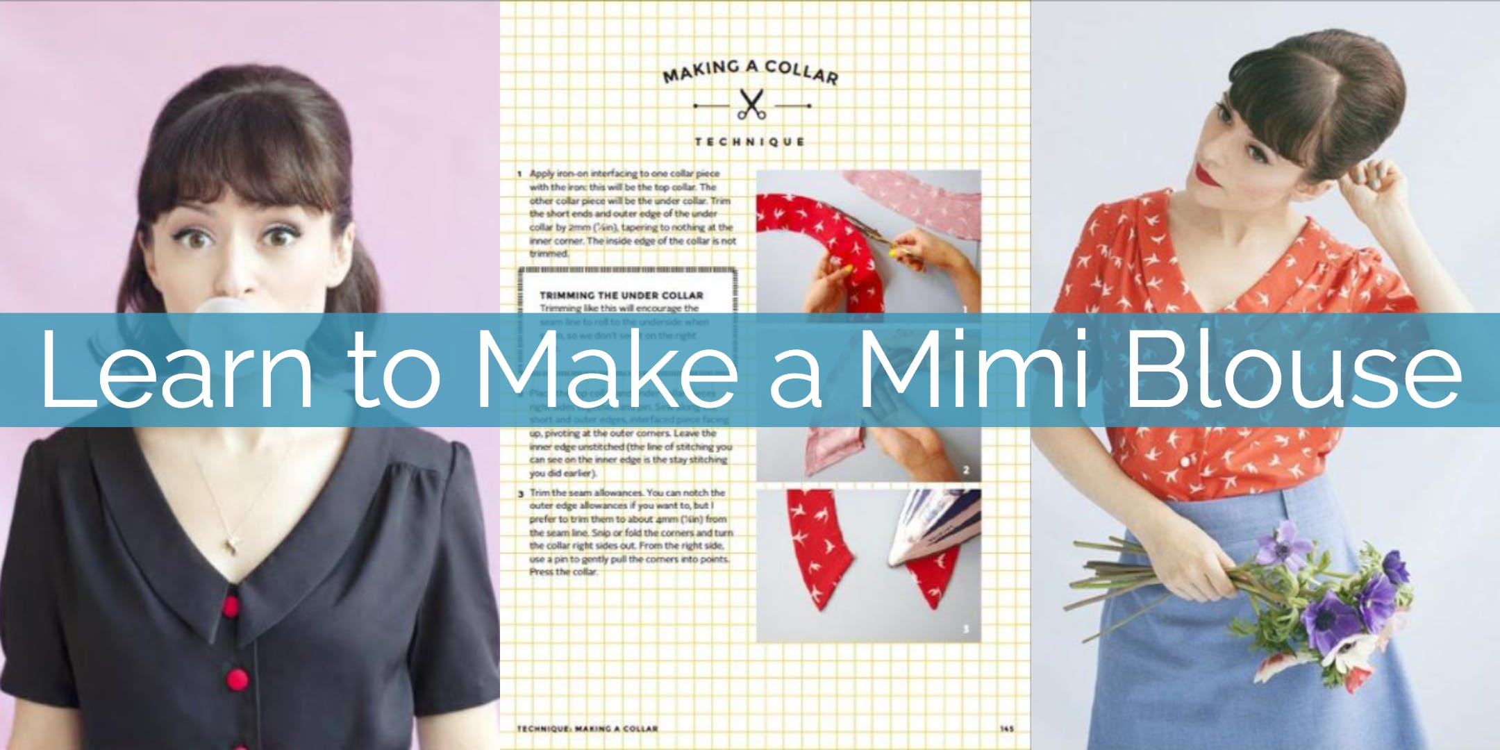 Learn to Make a Mimi Blouse