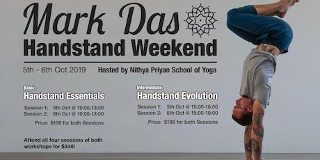 Mark Das Handstand Weekend tickets
