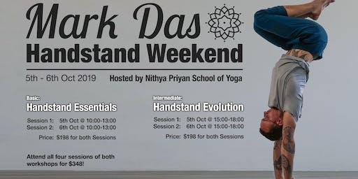 Mark Das Handstand Weekend