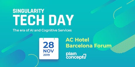 Singularity Tech Day 2019 tickets