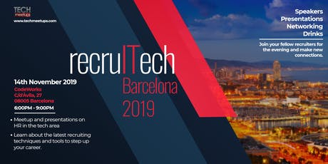 recruITech Barcelona 2019 tickets
