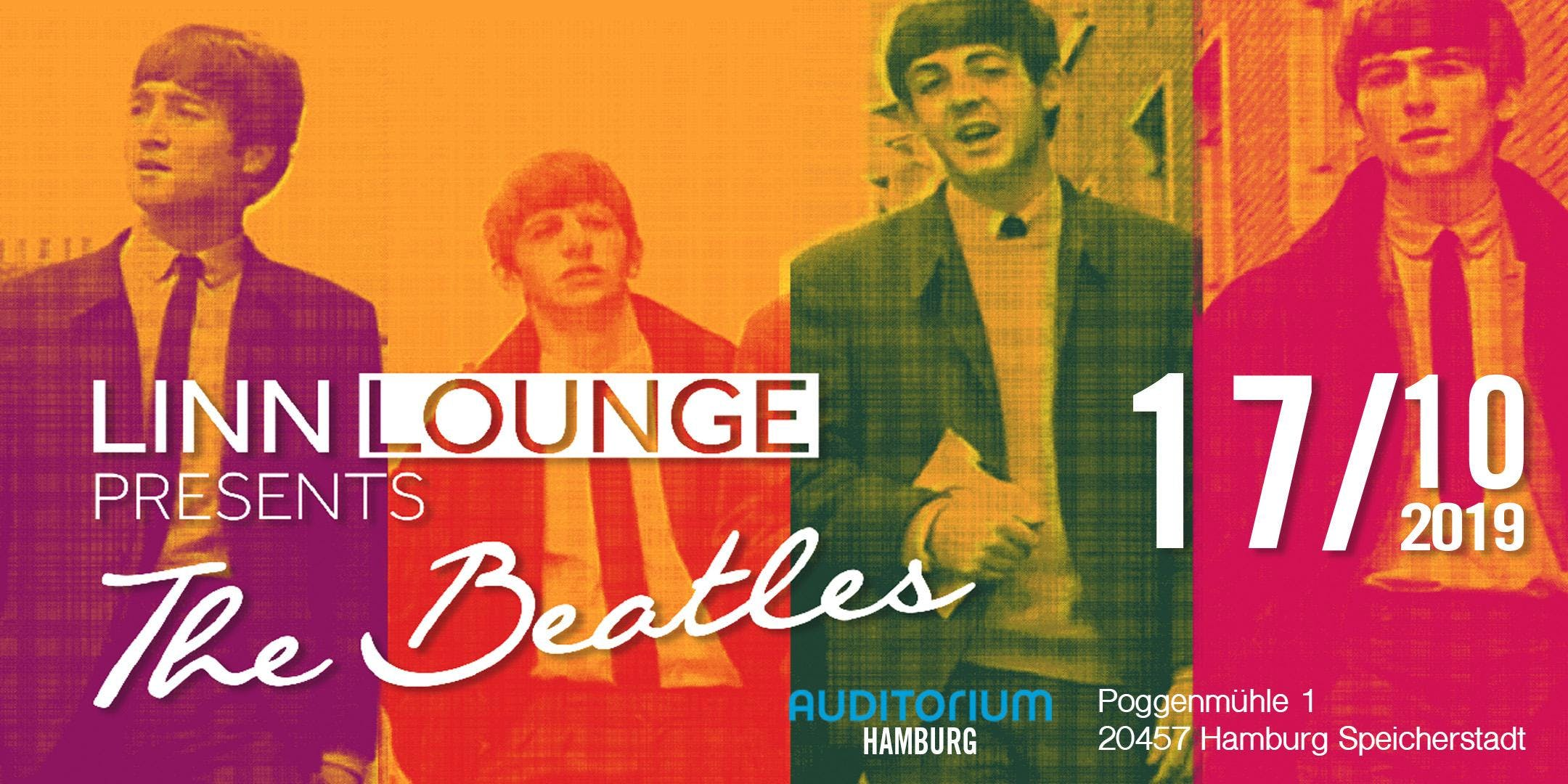 Linn Lounge  THE BEATLES im AUDITORIUM Hamburg
