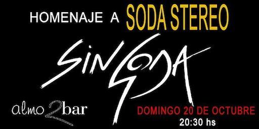 HOMENAJE A SODA STEREO/ SIN SODA BARCELONA