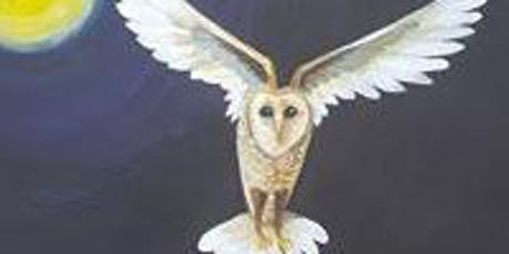 Paint a Flying Owl workshop tickets
