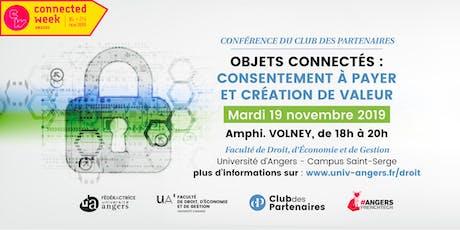 « Objets connectés : consentement à payer et création de valeur » billets