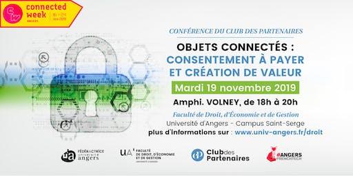 « Objets connectés : consentement à payer et création de valeur »