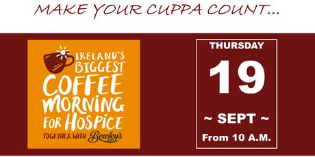 Mortgage123 Coffee Morning for Milford Hospice Limerick tickets