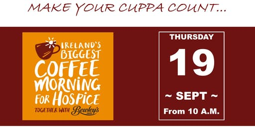 Mortgage123 Coffee Morning for Milford Hospice Limerick