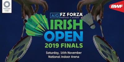 AIG FZ Forza Irish Open Finals