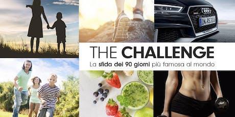ARONA (NO)- THE CHALLENGE LA SFIDA DEI 90 GG biglietti