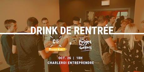 Drink de rentrée des jeunes qui se bougent à Charleroi! tickets