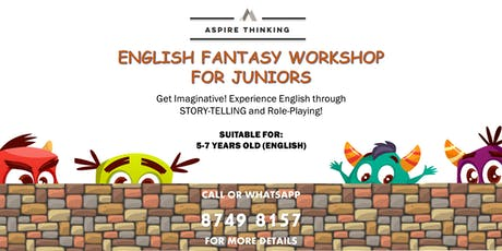 English Fantasy Workshop for 5-7 Year Olds tickets