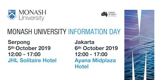 Monash University Information Day Serpong