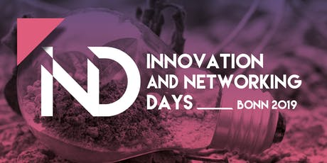 Innovation and Networking Days 2019 tickets
