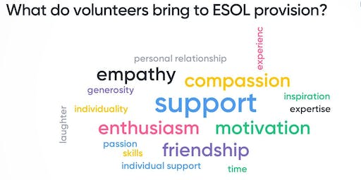 National Discussion:   Working with volunteers in ESOL delivery in Scotland