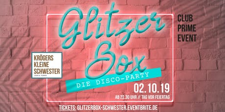 Glitzerbox Discoparty Tickets
