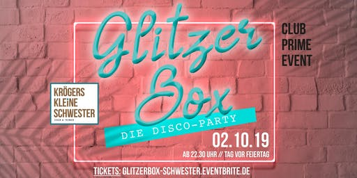 Glitzerbox Discoparty